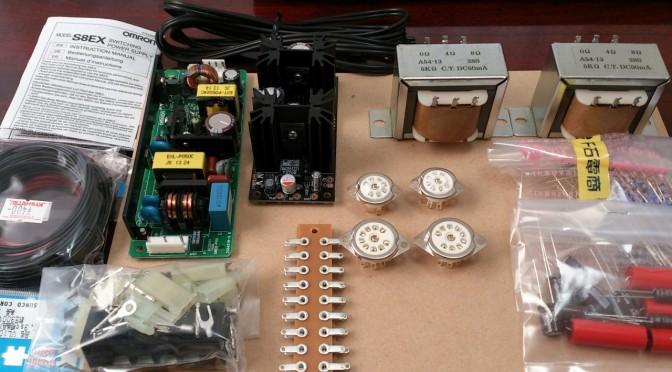 Re Electronics 懸賞品で作る真空管アンプ キーパーツ購入