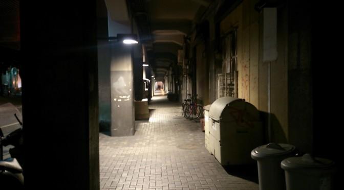 東京駅すぐ近所も人気(ひとけ)のない所がありました。